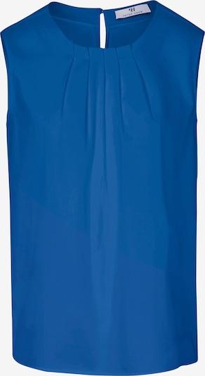 Peter Hahn 'Blusen-Top mit Rundhals-Ausschnitt' in blau, Produktansicht