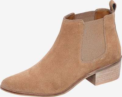 LASCANA Chelsea boots i ljusbrun, Produktvy