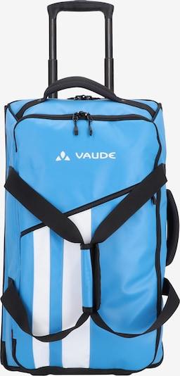 VAUDE Trolley 'Rotuma' in de kleur Royal blue/koningsblauw / Zwart / Wit: Vooraanzicht