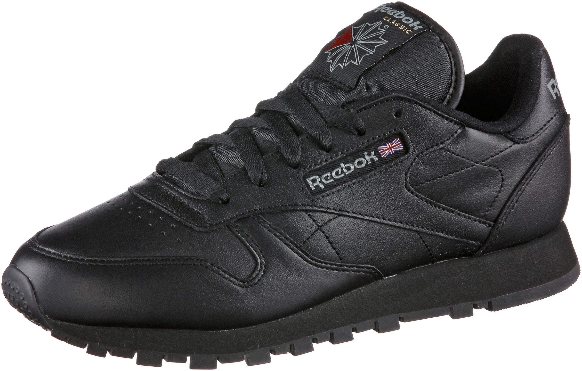 Schwarz 'classic Sneaker Classic Leather' Reebok In rCdQeWxBoE