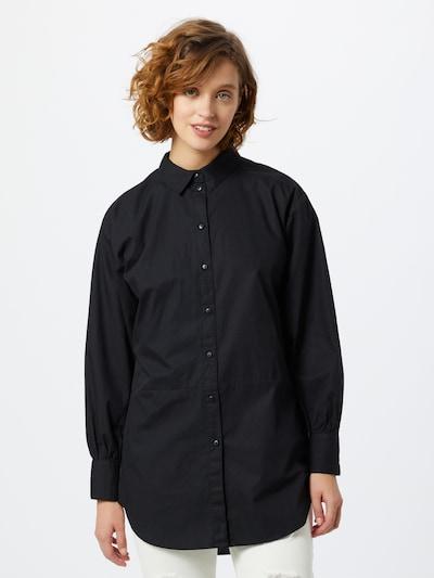 JACQUELINE de YONG Bluse in schwarz, Modelansicht