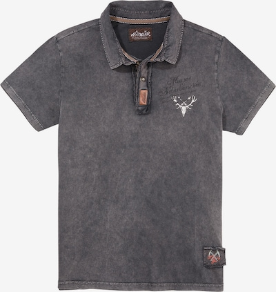 HANGOWEAR Poloshirt in basaltgrau: Frontalansicht