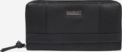 TOM TAILOR Geldbörse 'Juna' in schwarz, Produktansicht