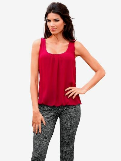 heine Shirt in rot, Modelansicht