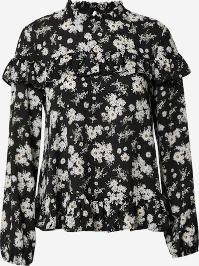 NEW LOOK Bluse in beige / schwarz, Produktansicht