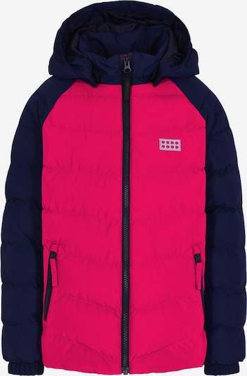 LEGO WEAR Winterjacke in navy / pink, Produktansicht