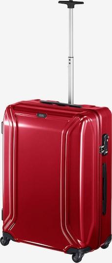 Zero Halliburton Trolley in rot, Produktansicht