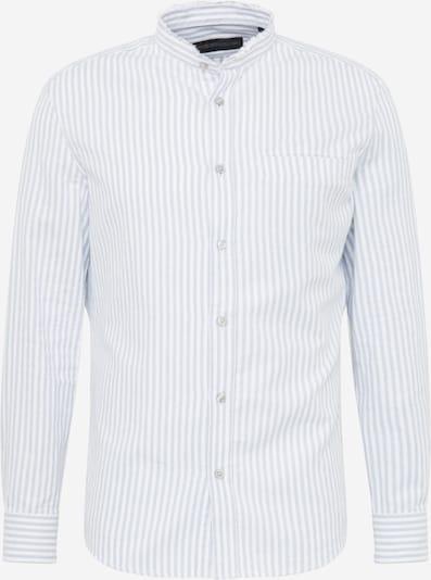 DRYKORN Hemd 'Daryl' in taubenblau / weiß, Produktansicht