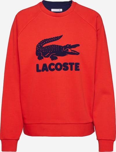 LACOSTE Sweatshirt in navy / rot, Produktansicht