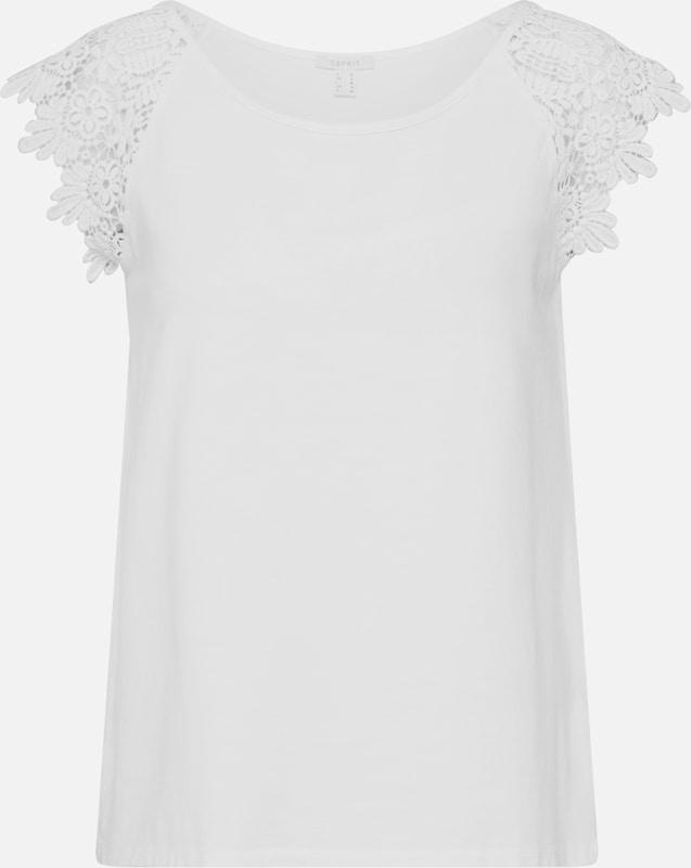 Blanc 'ocs Esprit T Twisted shirts Cassé shirt T En T Short Sleeve' lKcF1J