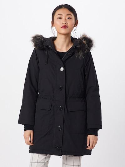 Ilga rudeninė-žieminė striukė 'LUXE' iš GAP , spalva - juoda: Vaizdas iš priekio