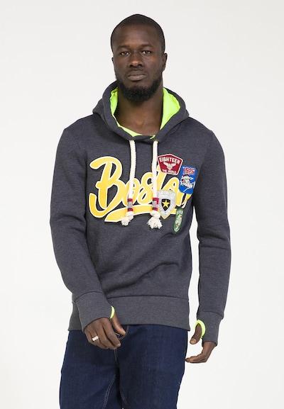 PLUS EIGHTEEN Pullover in dunkelgrau, Produktansicht