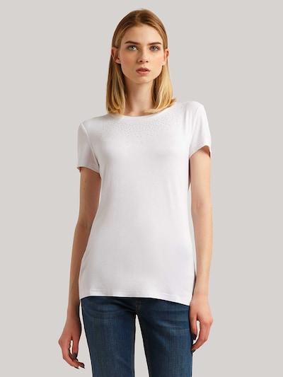 Finn Flare T-Shirt in weiß: Frontalansicht