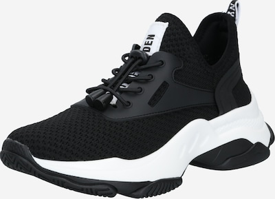 fekete / fehér STEVE MADDEN Rövid szárú edzőcipők, Termék nézet