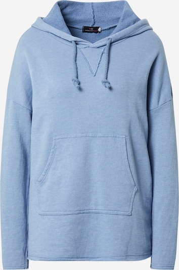 Zwillingsherz Sweat-shirt 'Lene' en bleu clair, Vue avec produit