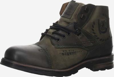 bugatti Stiefel in dunkelbraun / khaki, Produktansicht