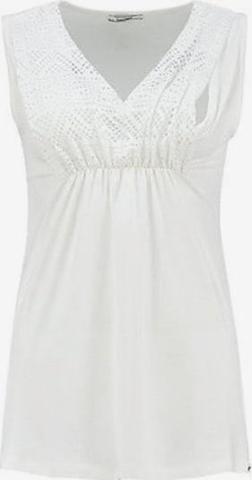 LOVE2WAIT Top in weiß, Produktansicht
