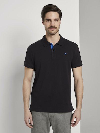 TOM TAILOR Majica u crna: Prednji pogled
