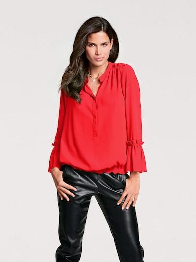 heine Blouse in de kleur Rood: Vooraanzicht