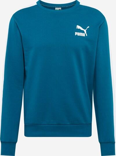 PUMA Sweatshirt 'Iconic T7 Crew' in himmelblau, Produktansicht