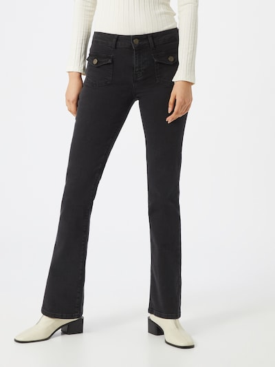 Noisy may Jeans 'NMMARLI NW BOOTCUT' in schwarz, Modelansicht