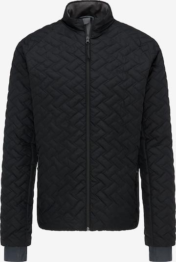 PYUA Outdoorjas 'Ray' in de kleur Zwart, Productweergave