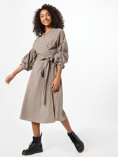 InWear Kleid 'PedrineI' in beige / braun, Modelansicht
