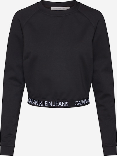 Calvin Klein Jeans Sweatshirt 'MILANO' in de kleur Zwart, Productweergave