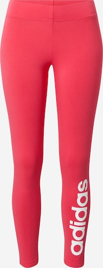 ADIDAS PERFORMANCE Pantalon de sport 'Essentials Linear' en rose / blanc, Vue avec produit