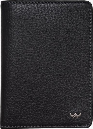 GOLDEN HEAD Kreditkartenetui 'Siena' in schwarz, Produktansicht