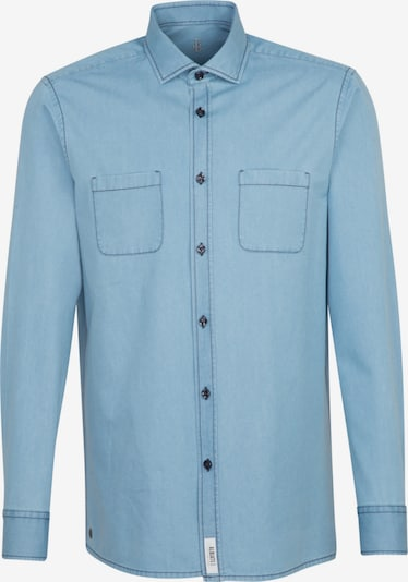 Jacques Britt Hemd in blau, Produktansicht
