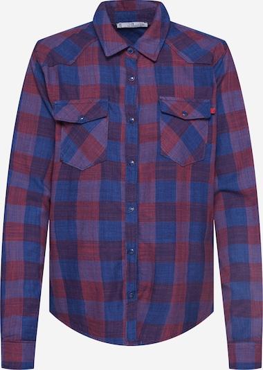 LTB Bluzka 'Lucinda' w kolorze niebieski / czerwonym, Podgląd produktu