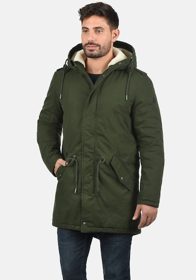 !Solid Winterjacke 'Darnell' in dunkelgrün, Produktansicht