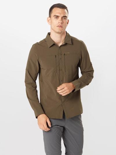 CRAGHOPPERS Funkční košile 'Pro' - olivová: Pohled zepředu