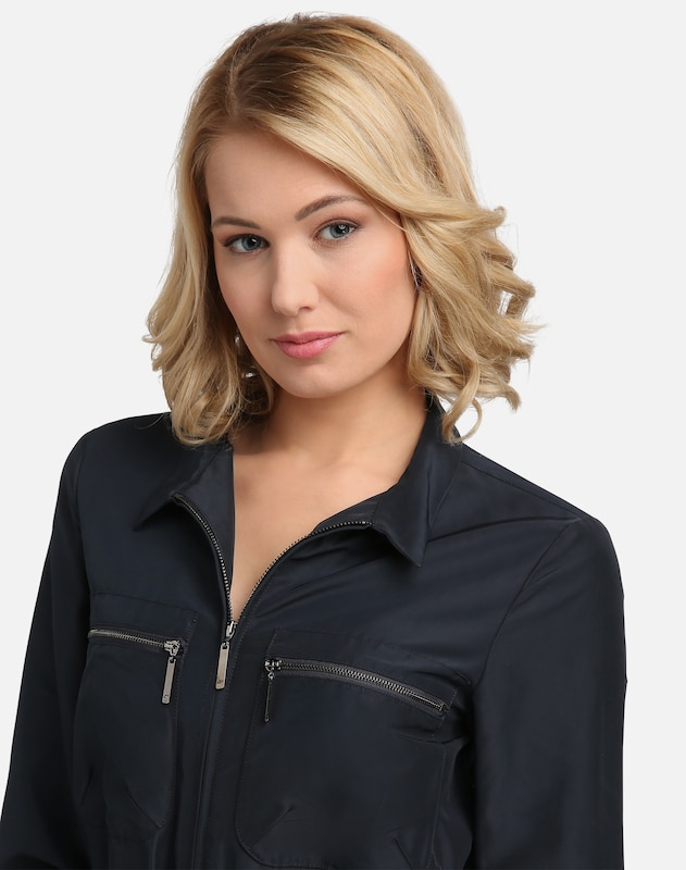 Promo-Codes heiß-verkaufende Mode stabile Qualität Trenchcoat-Kleid mit Hemdblusenkragen
