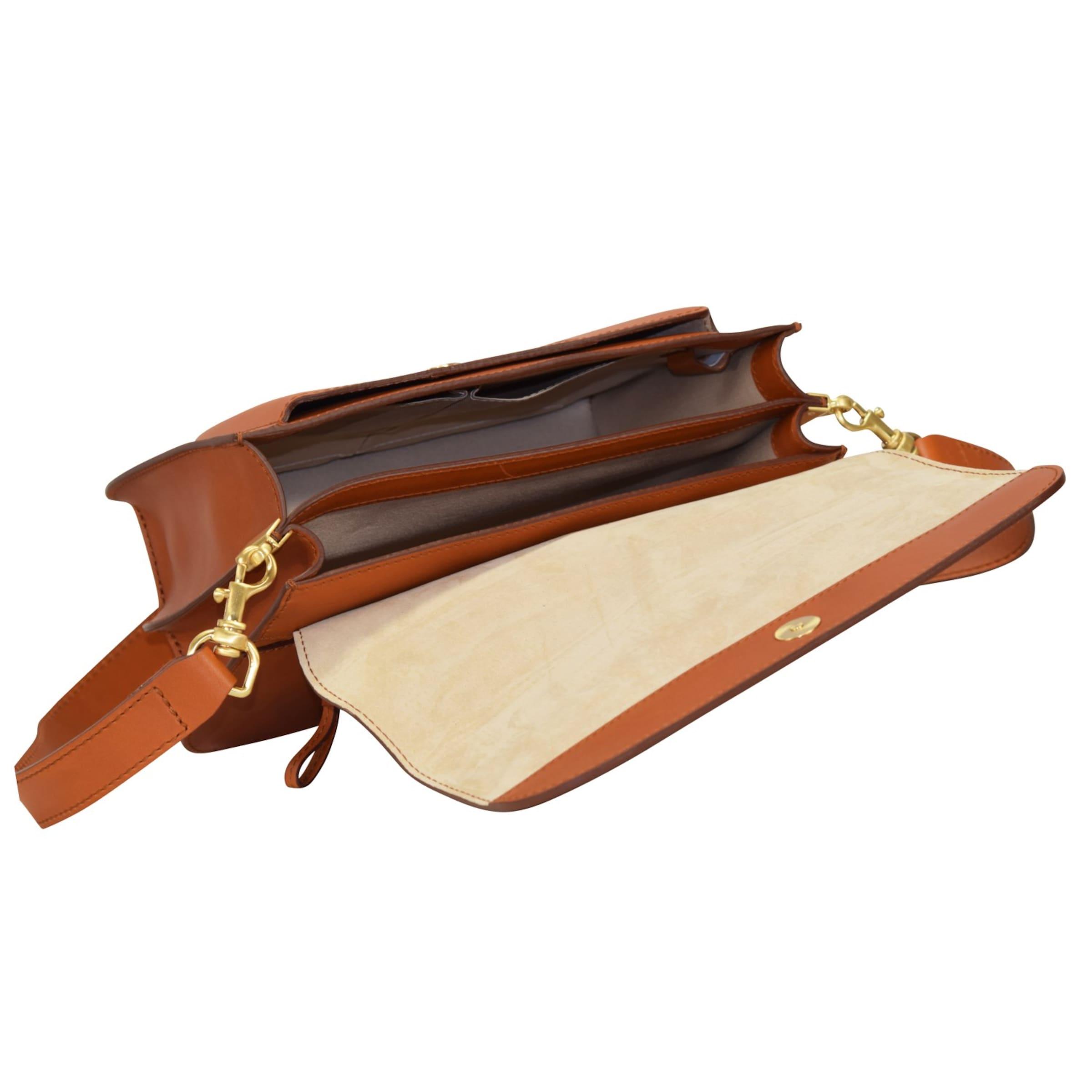 Billig Verkauf Neueste BREE 'Cambridge 7' Umhängetasche Leder 26 cm Auslass Neue Ankunft u6wgjI