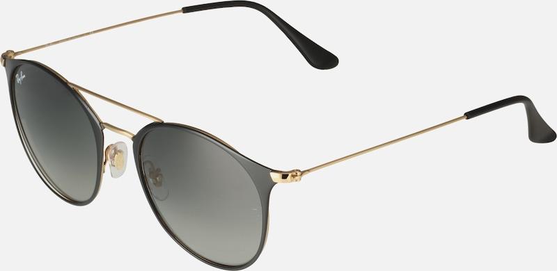 Ray Ban Sonnenbrille '0rb3546' Gold Schwarz Damen