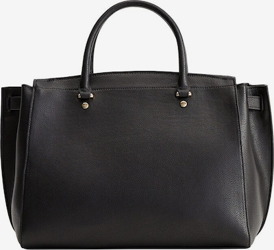 MANGO Shopper 'G-Lucia' in de kleur Zwart, Productweergave
