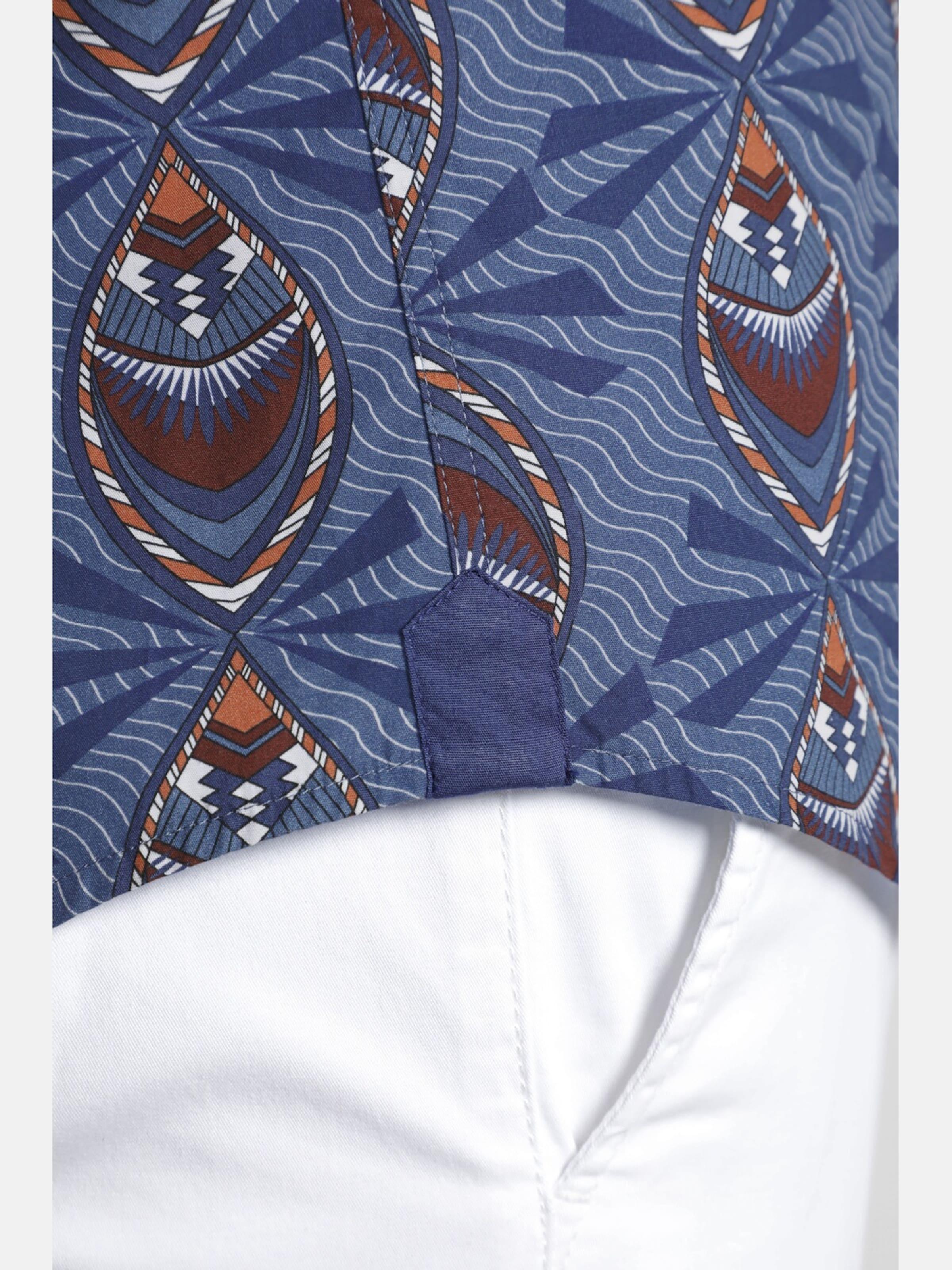 BlauBraun 'peacock' Shirtmaster Kurzarmhemd Shirtmaster In TKlF1Jc