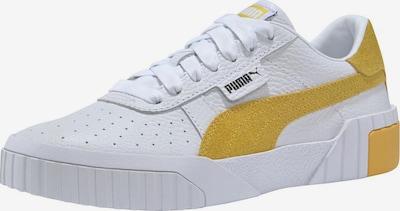 PUMA Sneaker 'Cali Summer Wn's' in gelb / weiß, Produktansicht