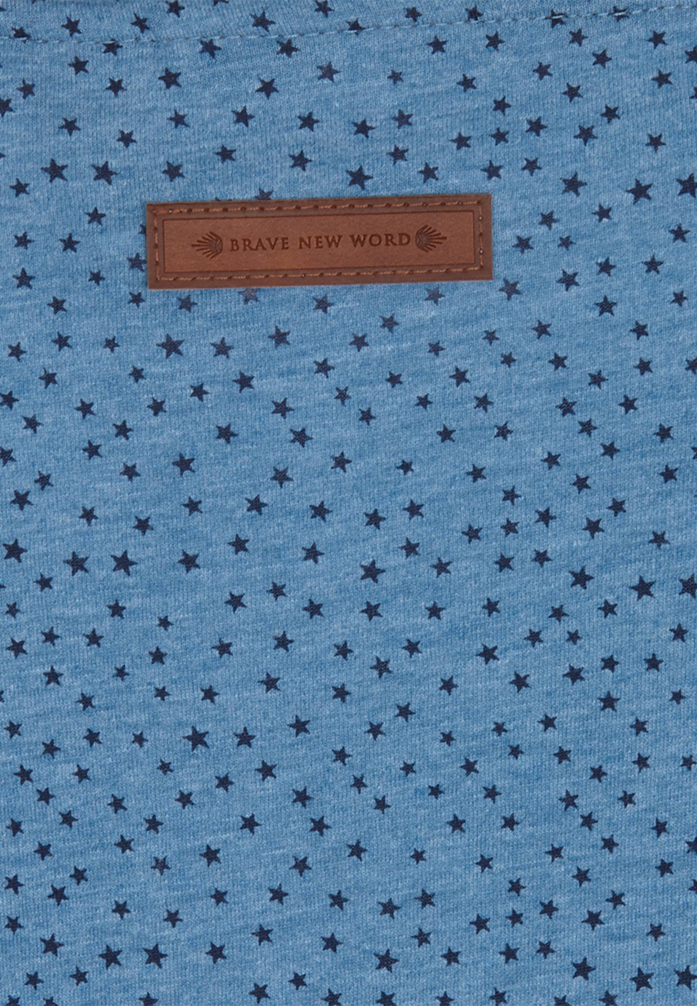 naketano Sweatshirt mit Sternen Niedriger Preis Versandgebühr AOGuT5jj
