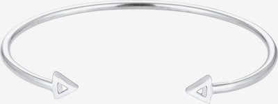ELLI Armband 'Dreieck' in de kleur Zilver: Vooraanzicht