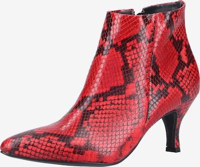 Paul Green Stiefelette in rot / schwarz, Produktansicht