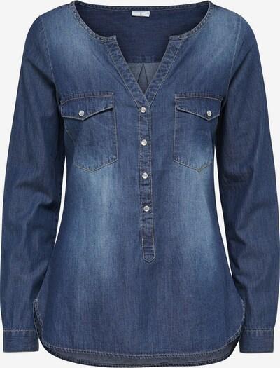 JACQUELINE de YONG Denimhemd in blau, Produktansicht