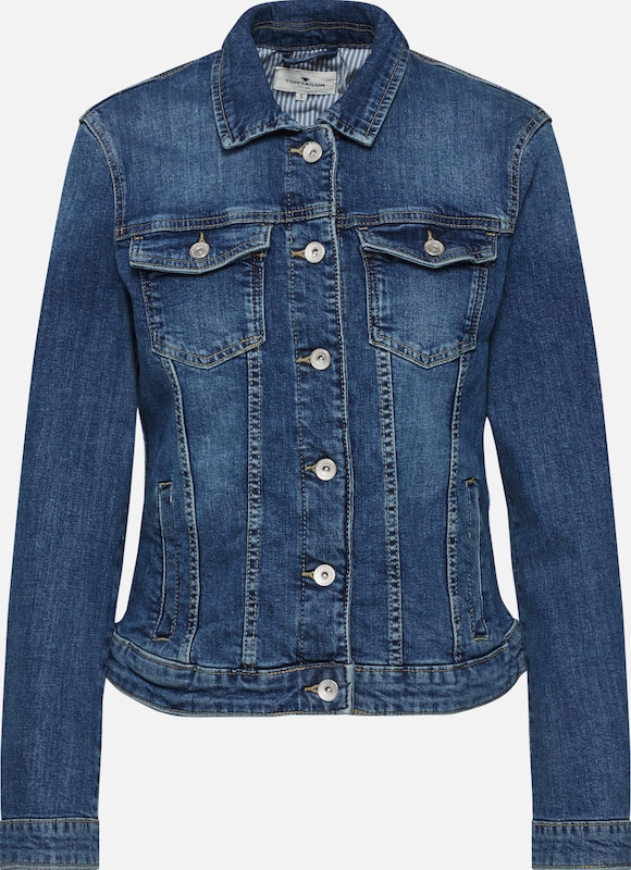 TOM TAILOR Jacke in blue denim, Produktansicht