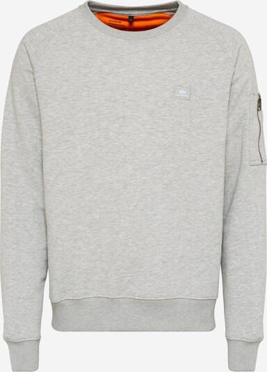 ALPHA INDUSTRIES Sweatshirt in graumeliert, Produktansicht
