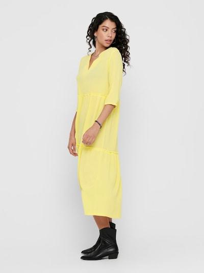 ONLY Kleid in gelb: Frontalansicht