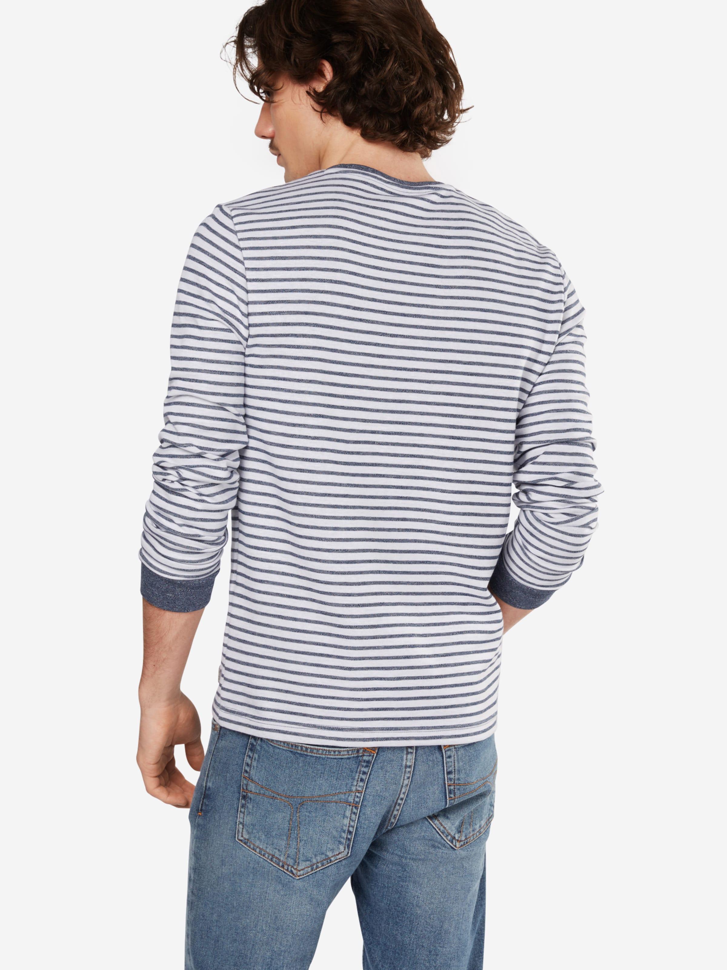 Billig 100% Authentisch 100% Original Günstig Online TOM TAILOR Langarmshirt 'with stripes' gpHwc5g