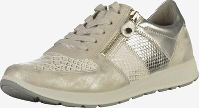 Jenny Sneaker in hellgrau / silber, Produktansicht