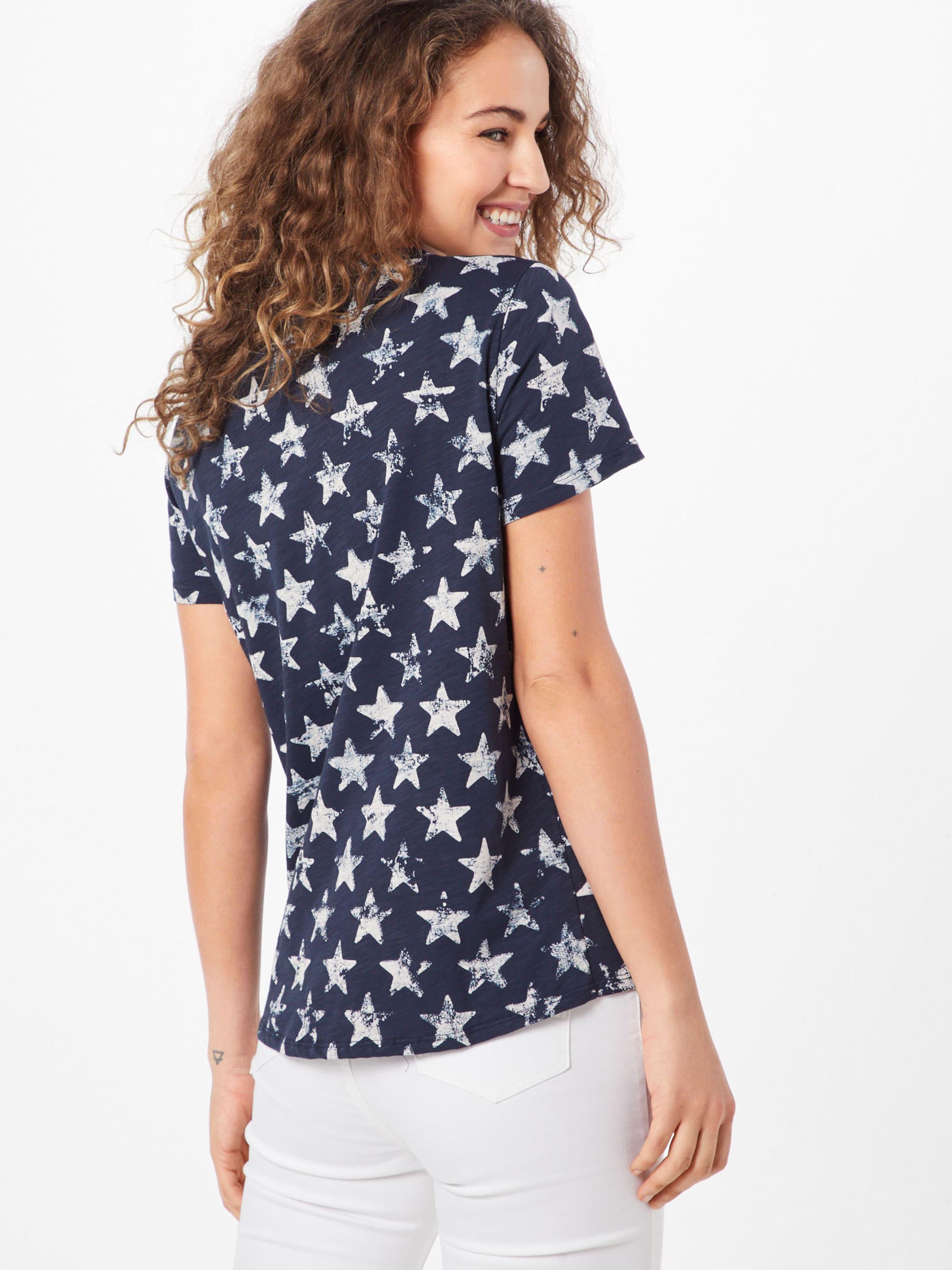 shirt En FoncéBlanc Monari Bleu T 9H2WEYDI